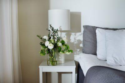 Blommor på rummet