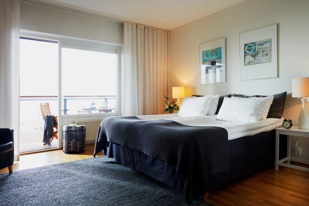 Kiviks Hotell havsutsikt med balkong