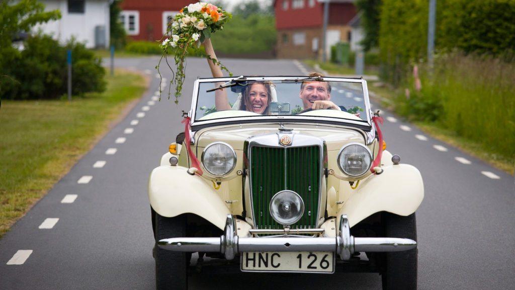 Bästa bröllopet på Kiviks Hotell på Österlen
