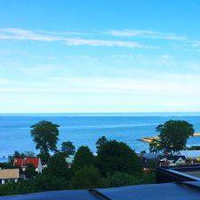 utsikt från taket på kiviks hotell